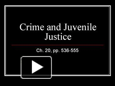 the growing problem of juvenile criminals in america Juvenile justice history this is an introduction to juvenile justice in america since the 1990s, youth crime rates have plummeted these falling crime rates have led many jurisdictions to rethink the punitive juvenile justice practices that became popular in the 1980s and 1990s.