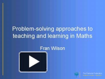 problem solving methods of teaching
