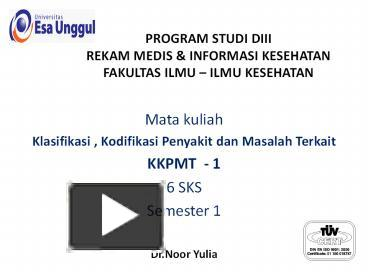 Ppt program studi diii rekam medis powerpoint presentation free ppt program studi diii rekam medis powerpoint presentation free to download id 714902 mwuzm ccuart Image collections