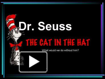 ppt dr seuss powerpoint presentation free to download id
