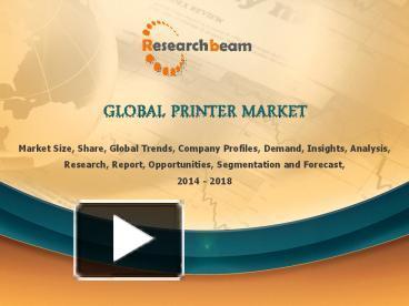 global professional skin care market 2014 2018