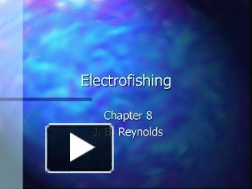 ppt – electrofishing powerpoint presentation | free to view - id, Wiring diagram
