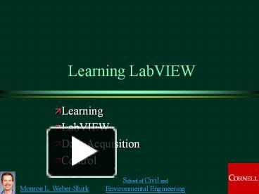 Labview Training Ppt
