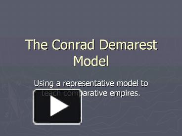 conrad demarest model of han and The conrad-demarest model of empire: basic principles for the roman, han chinese, and gupta empires necessary preconditions for the rise of empires.