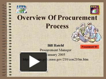 PPT – Overview Of Procurement Process PowerPoint presentation   free