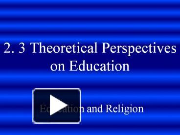 religion support and education essay The impact that religion has on education that teachers are ignoring the sad fact is that while religion is good for education, education is not good for religion.
