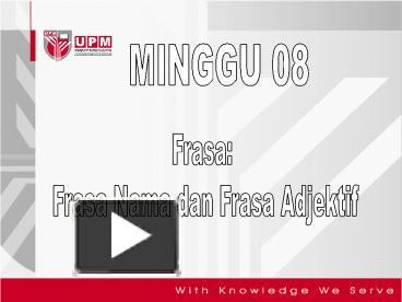 Ppt Minggu 8bbm3203 Powerpoint Presentation Free To Download