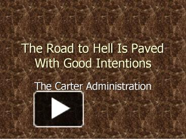 the road to hell case analysis