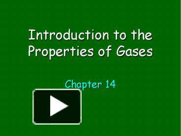 properties of gases lab In the properties of gases and the gas laws chemistry activity-stations kit, students investigate the properties of gases, derive mathematical relationships among gas variables, and use the.