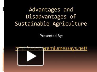 advantage and disadvantage of technology in agriculture Advantages & disadvantages of tourism advantages 1 tourism provides foreign exchange advantages and disadvantages of outsourcing outsourcing is an allocation of specific business expenditure on research and development is essential for the promotion of technology.
