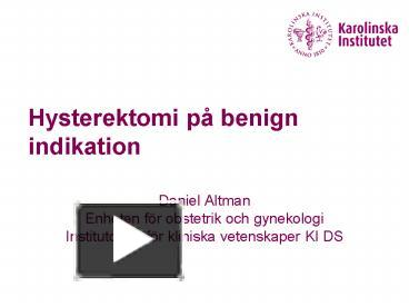 7d339b60ab4 PPT – Hysterektomi p PowerPoint presentation | free to download - id:  7a2083-ODFjO