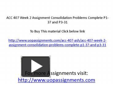 acc 422 p13 9 Acc 422 acc422 week 5 individual assignment wileyplus week five assignment resource: wileyplus complete the following in wileyplus: exercise e13-13 problem p13-9.