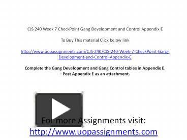cjs240 appendix b