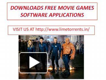 Limetorrent download movies