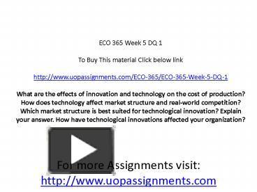 eco 365 essay example