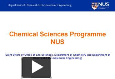 PPT – Chemical Sciences Prg Briefing PowerPoint presentation