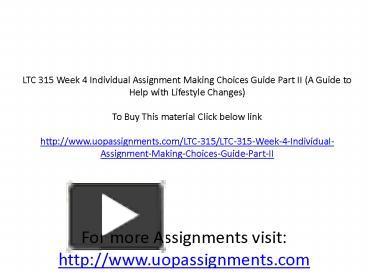 ops 571 week 5 summary