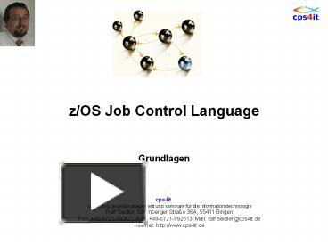 PPT – z/OS Job Control Language PowerPoint presentation | free to ...