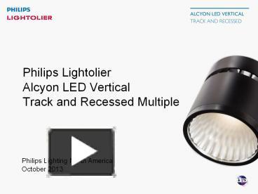 PPT – Philips Lighting North America PowerPoint presentation | free