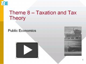 theories of taxation Theories of taxation: the economists have put forward many theories or principles of taxation at different times to guide the state as to.