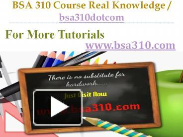 bsa 310 week 2 Bsa 310 week 2 individual assignment critical information systems paper bsa 310 week 2 individual assignment critical information systems paper.