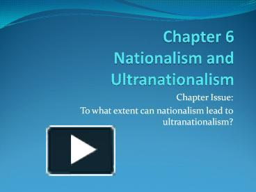 to what extent nationalism can be