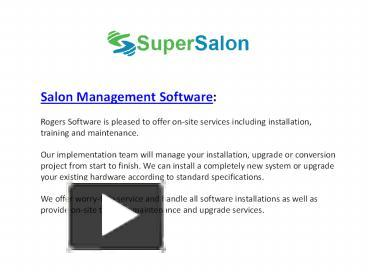 salon management project