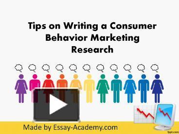 consumer behaviour in marketing ethics essay