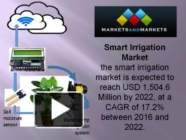 PPT – Smart Irrigation Market PowerPoint presentation | free