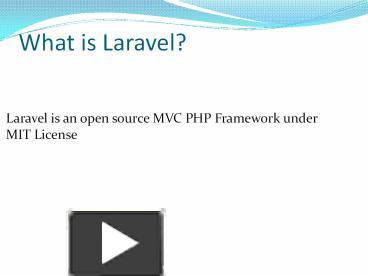 PPT – Laravel Template | Laravel Admin Panel | Laravel Blade