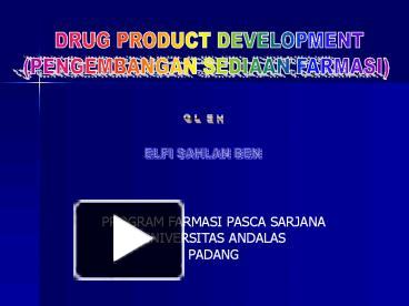 Ppt drug product development powerpoint presentation free to ppt drug product development powerpoint presentation free to view id 83ef71 njc5z ccuart Gallery
