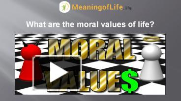 what are the values in life Becoming aware of your values gives your life a sharper focus and better clarity your most important values serve as a filter through.