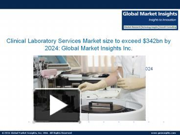 clinical laboratory services market size share