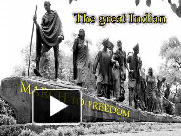 PPT – INDIAN NATIONAL MOVEMENT PowerPoint presentation | free to