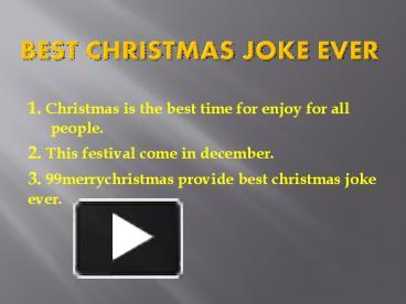 ppt joke christmas presents powerpoint presentation free to download id 84ac5b mdrhm