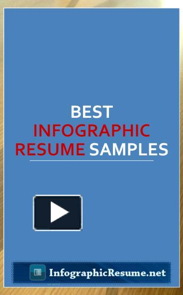 ppt best infographic resume samples 1 powerpoint presentation