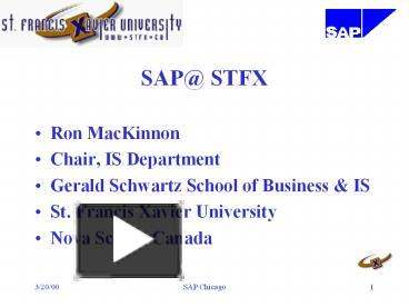 Ppt sap stfx powerpoint presentation free to download id ppt sap stfx powerpoint presentation free to download id 84df47 y2i0z toneelgroepblik Gallery