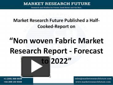 market research report for brewing equipment