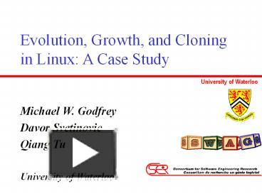 linux case study Linux vs windows: a comparison of application and platform innovation the short case study enables us this case study of linux vs windows distinguishes.