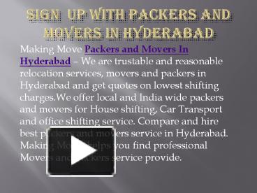 Effctive Packers and Movers in Goa