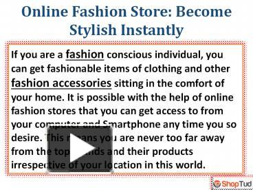 ppt – online fashion store powerpoint presentation | free to, Shoe Boutique Powerpoint Presentation Free Template, Presentation templates