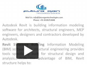PPT – Revit structure training in ameerpet PowerPoint presentation