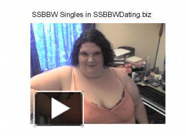 Super bbw dating sites in amerika