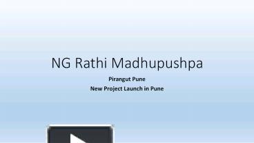 NG Rathi Madhupushpa - Download Brochure Ng Rathi Madhupushpa