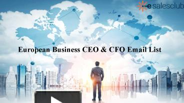 PPT – Boost Your Sales With European Business Database PowerPoint