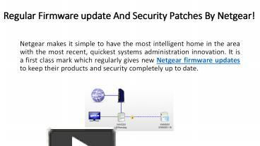 PPT – Regular Firmware update And Security Patches By