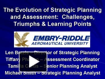 assessment of the evolution of strategic Baby steps to erm subsequent to improving our approach to risk-based audit planning, we embarked on a dual strategy to promote the practice of ri sk assessment.