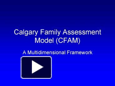 what is cfam