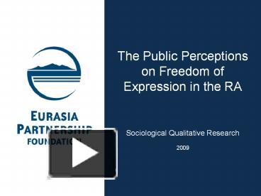 a reflection on a case presentation on the freedom of expression in canada Canada's 1982 constitution guarantees freedom of expression and freedom of the press the government may legally restrict free speech with there are no specific laws that protect confidential sources, and the courts often decide whether to respect source confidentiality on a case-by-case basis.