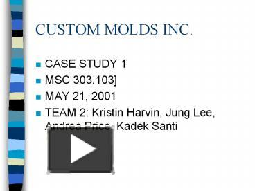 custom mode inc case study Mode of delivery: computer-based administration: netsol technologies inc netsol technologies, inc (nasdaq cm: ntwk) (nasdaq dubai: ntwk) is a worldwide provider of global business services and enterprise application solutions netsol offers consulting services, custom development, system.